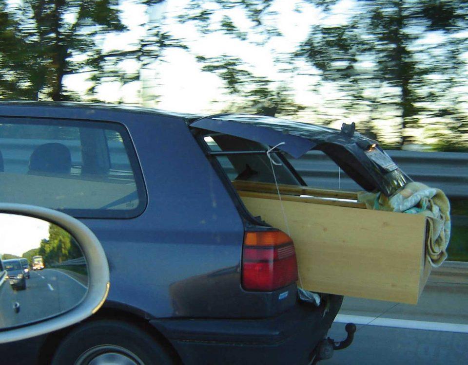 Falsche Ladungssicherung kann folgenschwere Konsequenzen haben.